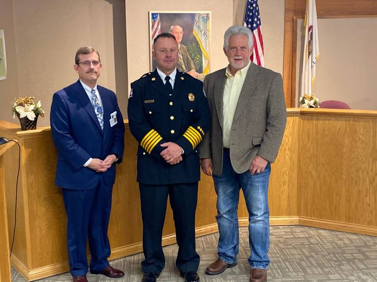 City of Marion Names a New Chief Tim Barnett