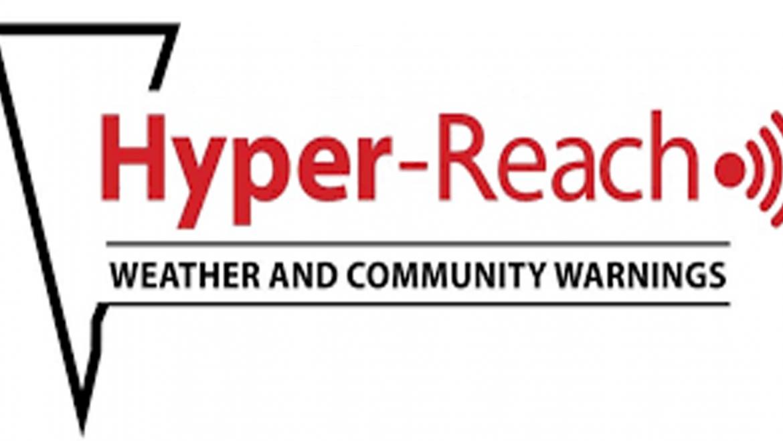 Residents Encouraged to Register for Hyper-Reach